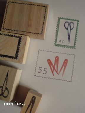 切手フレーム